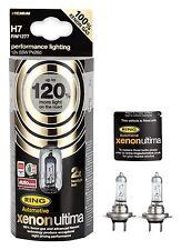 H7 Halogen Ring 120% Xenon Ultima Lampen Birnen 12V 55W mit Xenongas