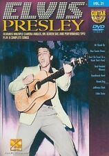 Guitar Play Along Elvis Presley 0884088259457 DVD Region 1