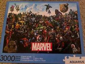 Aquarius Marvel Cast 3000 Piece Jigsaw Puzzle New