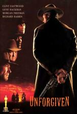 Unforgiven Movie Poster 27 x 40 Clint Eastwood, Gene Hackman, Morgan Freeman,C