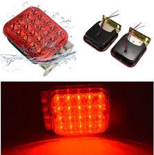 2pcs Car Truck LED Tail Brake Stop Turn Signal Lights 20SMD Waterproof IP65 Kit