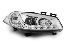 Paire de feux phares Renault Megane 2 02-05 Daylight led chrome (E15)