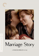 Marriage Story The Criterion Collection DVD R4 Scarlett Johanssson Noah Baumbach