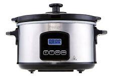 Prestige 46877 3.5 Litre Digital Slow Cooker - Silver