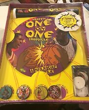 Sealed Collector Edition POGS ONE on ONE Milk Cap BATTLE GAME Hakeem /Shaquille