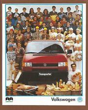 VOLKSWAGEN  Transporter      - 1991 Car Print Ad