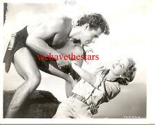 Vintage Gordon Scott Beefcake Sexy Handsome '55 Tarzán Publicidad Retrato