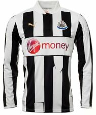 Newcastle United Mens XXL Home Long Sleeved Football Shirt Kit 2012/13