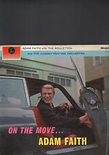 ADAM FAITH - on the move... LP first UK press