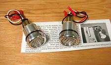 1940 - 1966 CHEVY TRUCK BEDSIDE CURL HOLE LED LIGHTS AMBER