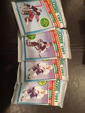 1991 Score NHL Hockey Cards Series 2 English Lot Of 4 Unopened Packs