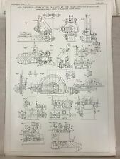 Universal Gear Cutting Machine: Rochdale: 1908 Engineering Magazine Print