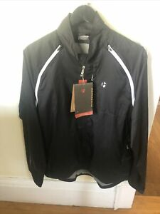 New-Old-Stock BONTRAGER Men's Convertible Windshell Jacket • Size Large • Black
