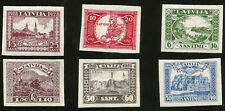 LATVIA LIBERTY MEMORIAL ERECTION FUND MINT IMPERFORATE STAMPS FROM 1928
