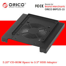 "ORICO 5.25"" CD-ROM Space to 3.5"" HDD Hard Disk Rack Converter Adapter Bracket"