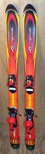 110 cm Rossignol Rebel skis bindings + size 2.5 junior ski boots + poles