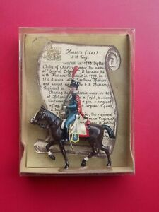 CBG Mignot Single Hussars on Horse with Sword (1808) 4th Reg. 1/32 54mm scale