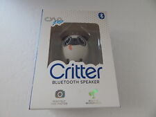 CYLO Pop Doggy Critter Bluetooth Speaker Built in Mic Remotely Take Photos New