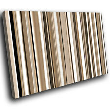 Brown White Black Abstract Canvas Wall Art Cool Picture Prints