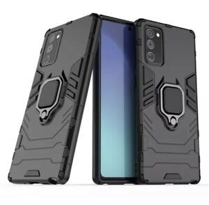 Omeve Shockproof Armor Finger Ring Stand Case Cover Samsung Galaxy Note20 Ultra