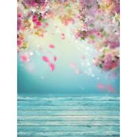Background Cloth Photography Studio Room Flower Print Backdrop Household Decor