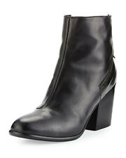 NEW Alberto Fermani Viva Ankle Boot, Black Leather, Women Size 40 (10 US), $485