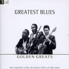 Greatest Blues-Golden Greats (Disky) | 3 CD | BIg Joe Turner, B.B. King, John...