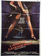 """""""L'ANGE DE LA VENGEANCE (Ms. 45)"""" Affiche originale (Abel FERRARA / Zoë LUND)"""