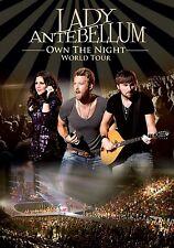 LADY ANTEBELLUM - OWN THE NIGHT WORLD TOUR   DVD NEU