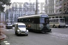 35mm Slide SPAIN Zaragoza Tram Strassenbahn 1973 Original Spanish