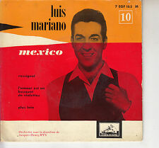 45TRS VINYL 7''/ FRENCH EP LUIS MARIANO / MEXICO + 3