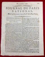 Vendôme en 1792 Loir et Cher Blois Chartres Guignes Seine et Marne Séguier