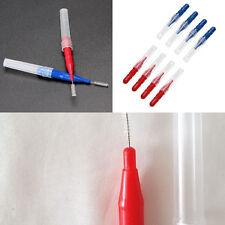 Clean Tooth Floss Head Hygiene Dental Plastic Interdental Brush Toothpick.US
