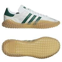 ADIDAS ORIGINALS MEN'S COUNTRY X KAMANDA SHOES WHITE TRAINERS RARE DEADSTOCK NEW