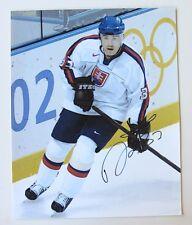 ZIGMUND PALFFY Signed 2002 OLYMPIC SLOVAKIA 16x20 Photo w/COA