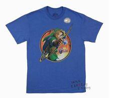 Zelda Bogenschütze Link Nintendo Lizenziert Erwachsenen T-Shirt
