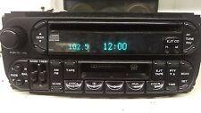 Dodge Chrysler Jeep radio tuner CD cassette RAZ 02-07 P05064300 Wrangler Sebring