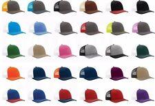 Brand New - Richardson, Trucker, Baseball Cap, Meshback Hat, Snapback Cap, 112