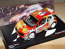 PEUGEOT 207 S2000 #8 Rallye d'Ypres 2009 Freddy Loix - 1/43e Altaya
