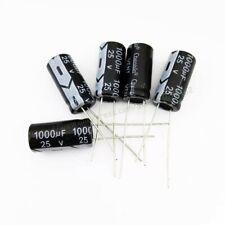 1000uf 25v LOT 5X CONDENSATEUR CHIMIQUE 1000µF 1000uF 25V RADIAL 105° 5x lot