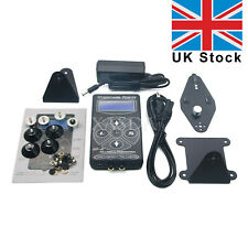 Hurricane HP-2 Black Tattoo Power Supply Digital Dual LCD Display Machine UK xa*