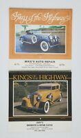 2 Lot Vintage Kings Of The Highway Calendars 1985 1986
