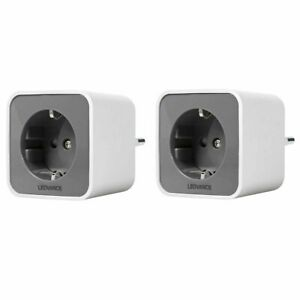 LEDVANCE Smart+ Indoor Plug EU Schuko ZigBee Funksteckdose 84mm, max. 3.680W 2er