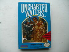 NTSC NES Uncharted Waters CIB complete with map game