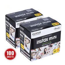 100 Sheets Fujifilm Instax Instant Camera Photo Paper For mini 8 7s 25 50 90 SP1