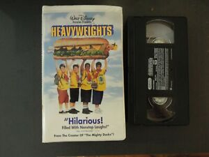 """""""HEAVYWEIGHTS"""" ON VHS IN CLAMSHELL CASE *TCI#R"""