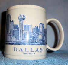 "Starbucks 2008 Architect Series - Dallas, Texas; ""Big D"" Mug; (NEW)"