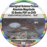 53 PDFs Aboriginal Science Fiction Magazine Absolute Magnitude Pulp Fiction DVD