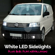 For VW T5 Transporter 2003-2009 DRL LED Sidelight Upgrade light Bulbs *SALE*