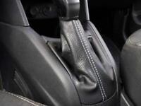 Cuffia leva cambio Peugeot 208 vera pelle nera